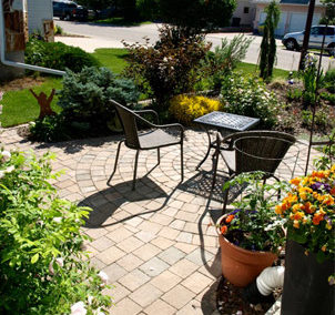 Paver and Brick Patios and Walkways
